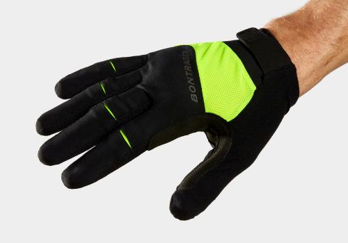 Glove Bontrager Circuit Full-Finger LG Radioactive Yellow