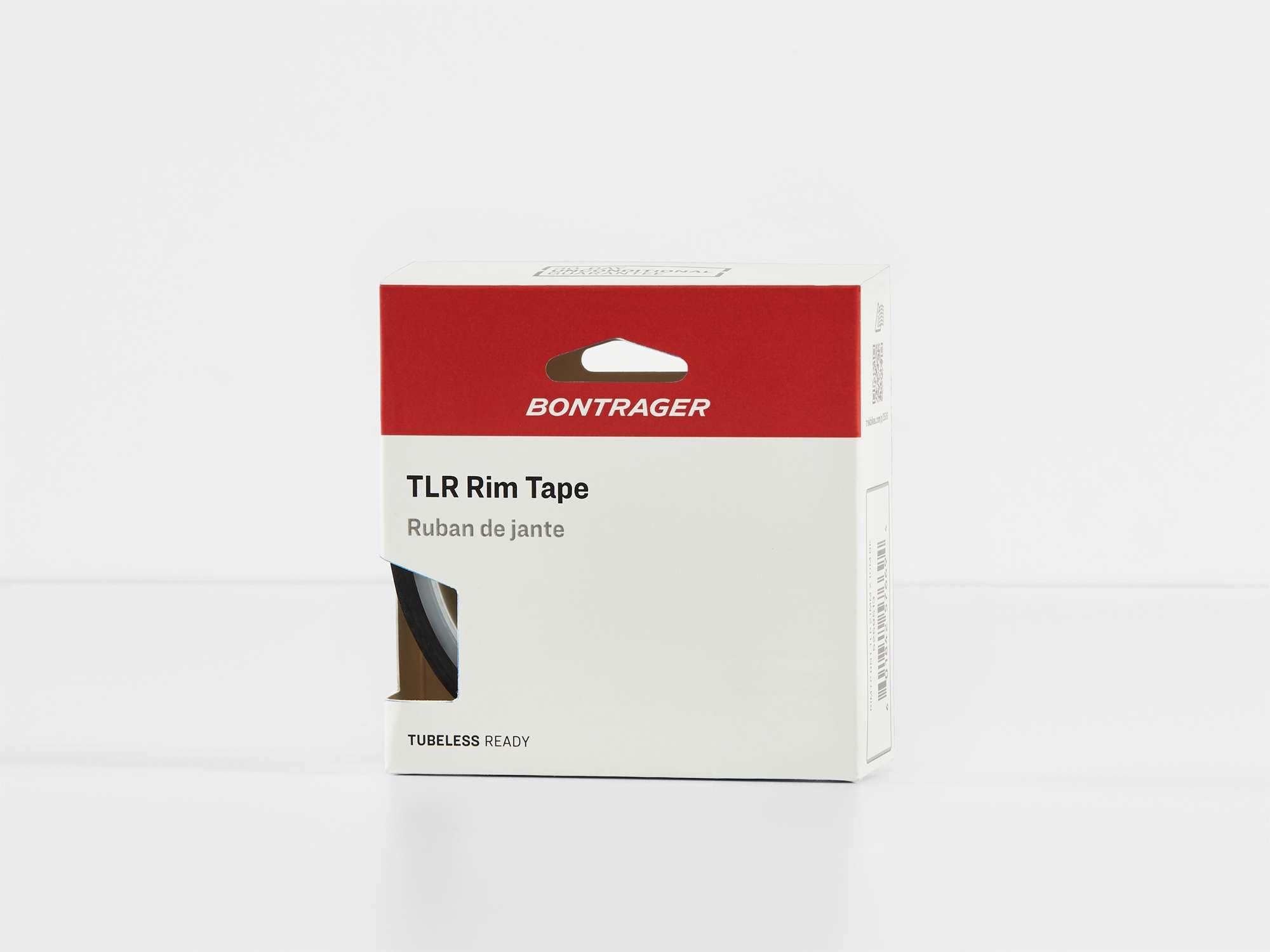 Cinta de llanta Bontrager TLR ancho 23 mm x largo 10 m negro